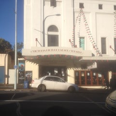 Photo taken at The Victoria Picture Palace and Theatre by Nathan J. on 6/16/2012