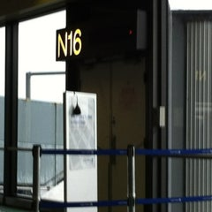 Photo taken at Gate N16 by Dave L. on 3/2/2012