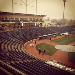 Photo taken at Medlar Field at Lubrano Park by David M. on 3/31/2012