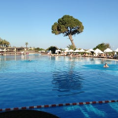 Photo taken at Rixos Premium Belek by Mahmut G. on 4/27/2013