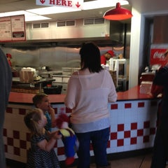 Photo taken at Five Guys by Tom E. on 4/25/2013