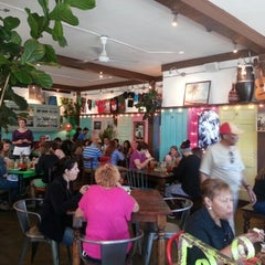 Photo taken at Sol Food Puerto Rican Cuisine by Rafael M. on 10/13/2012