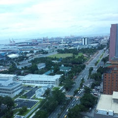 Photo taken at Pearl Of The Orient Tower by Nica R. on 10/12/2013