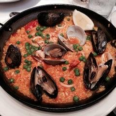 Photo taken at Barcelona Restaurant & Bar by Rhonda R. on 10/14/2013