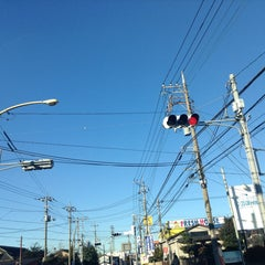 Photo taken at 愛宕山交差点 by yoshi_rin on 12/17/2014