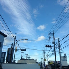 Photo taken at 愛宕山交差点 by yoshi_rin on 1/6/2015