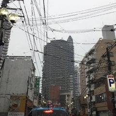 Photo taken at ファルマン通り交差点 by yoshi_rin on 11/1/2015