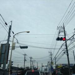 Photo taken at 愛宕山交差点 by yoshi_rin on 11/10/2014