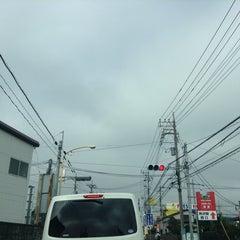 Photo taken at 愛宕山交差点 by yoshi_rin on 8/12/2014