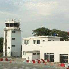 Photo taken at Aeropuerto Internacional Capitán FAP Guillermo Concha Iberico (PIU) by Adolfo C. on 2/18/2013