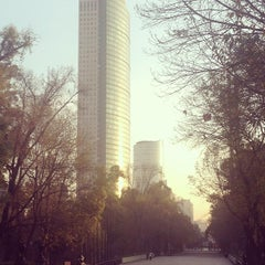 Photo taken at Torre Mayor by Rodolfo J. on 1/11/2013