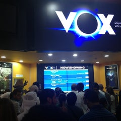 Photo taken at VOX Cinemas by Hs on 6/21/2013