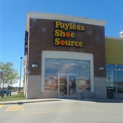 Photo taken at Payless Shoe Source by John C. S. on 9/8/2013