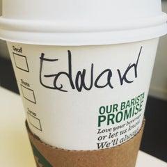 Photo taken at Starbucks by Erdem G. on 7/8/2015