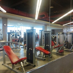 Photo taken at Student Recreation And Wellness Center (SRWC) by Anish T. on 4/5/2014