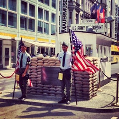 Photo of Checkpoint Charlie in Berlin, Be, DE