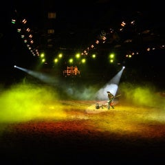 Photo taken at Medieval Times Dinner & Tournament by Bryan V. on 5/16/2013