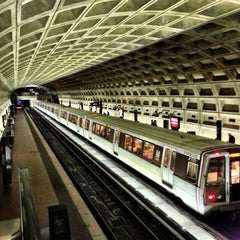 Photo taken at McPherson Square Metro Station by Robert D. on 10/7/2012