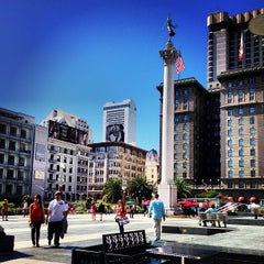Photo taken at Union Square by Kristen Jane D. on 9/22/2013