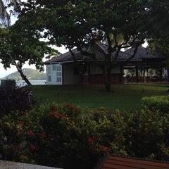 Photo taken at Sandals Halcyon Beach Resort by Mark U. on 12/17/2013