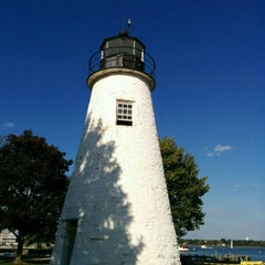 Photo taken at Concord Point and Lighthouse by Melissa S. on 10/7/2015