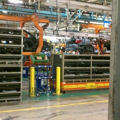 Photo taken at Chrysler Sterling Heights Assembly Plant by Abby M. on 3/20/2013
