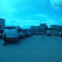 Photo taken at Wawasan Bus Terminal by hada m. on 4/21/2013