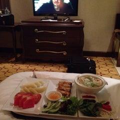 Photo taken at Eastin Grand Hotel Saigon by Kookie P. on 6/16/2015