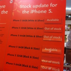 Photo taken at M1 Shop by Chu B. on 9/21/2012