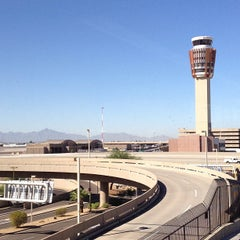 Photo taken at Phoenix Sky Harbor International Airport (PHX) by Ryan L. on 9/25/2013