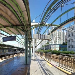 Photo taken at 구로역 (Guro Stn.) by Miguel on 9/3/2013