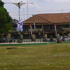 Photo taken at Alun - Alun Sragen by Anis M. on 5/26/2014