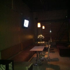 Photo taken at Atmosphere Ultra-lounge by Elizabeth B. on 4/4/2013