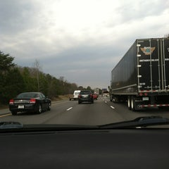 Photo taken at Interstate 95 Exit 92 by Bre L. on 3/16/2013