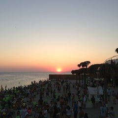 Photo taken at SunSet (kaZantip) by Ekaterina K. on 8/10/2013