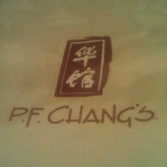 Photo taken at P.F. Chang's by mike m. on 1/19/2013
