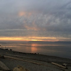 Photo taken at Mukilteo Lighthouse Park by Xander E. on 1/22/2014