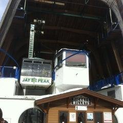 Photo taken at Jay Peak Resort by Marc-Andre N. on 3/9/2013