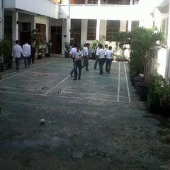 Photo taken at SMA Negeri 6 Bandung by Nickita S. on 7/24/2013