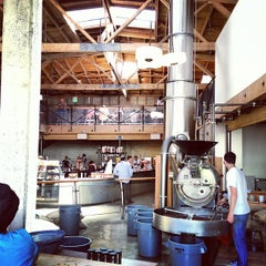 Photo taken at Sightglass Coffee by HODINKEE .. on 6/26/2013