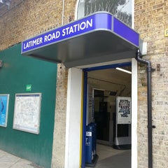 Photo taken at Latimer Road London Underground Station by Peter C. on 9/17/2013