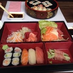 Photo taken at Nagano Japanese Restaurant by Richard B. on 3/22/2014