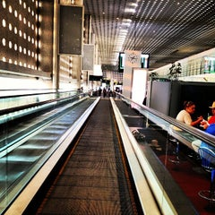 Photo taken at Terminal 2 by Jorge L. on 5/8/2013