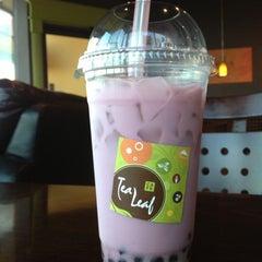 Photo taken at Tea Leaf Cafe by Alex F. on 11/15/2012