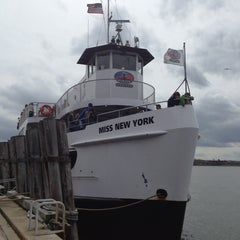Photo taken at Miss New York Ferry by Nadin S. on 4/8/2014