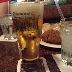 Photo taken at Rudi Lechner's German Restaurant by D C. on 3/19/2013