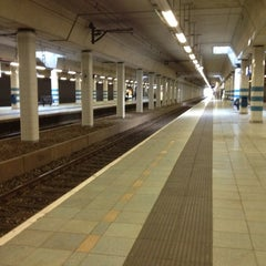 Photo taken at Station Rijswijk by Andrew C. on 11/5/2012