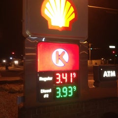 Photo taken at Circle K by T. Robert K. on 2/8/2013