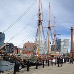 Photo taken at Albert Dock by M Z. on 5/4/2013