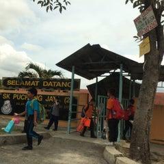Photo taken at SMK Bandar Puchong Jaya (A) by Liaa Eliaa on 8/27/2014